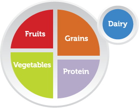 smart chef - myplate balance meal