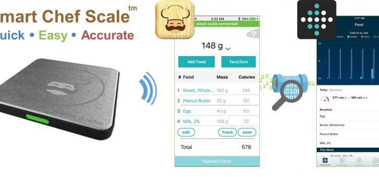 Smart Chef syncs with Fitbit
