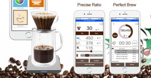 Smart Chef Scale Drip Coffee Making