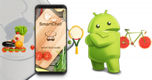 Smart Chef Scale Android App