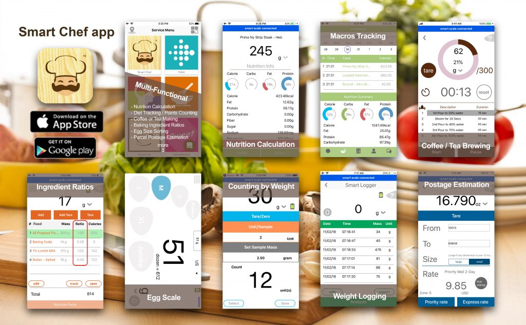 Smart Chef multifunctional mobile app
