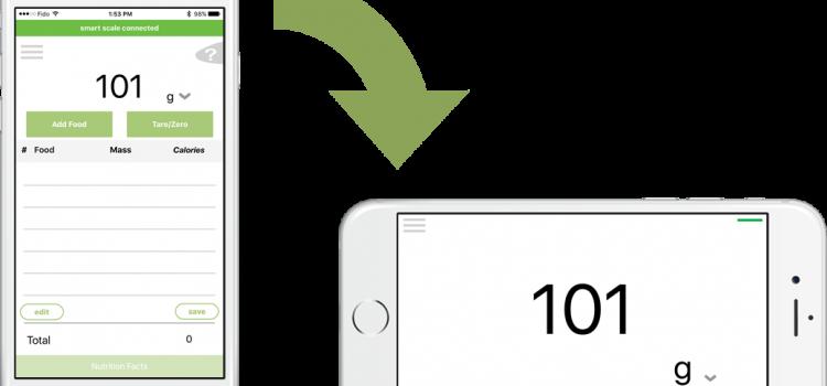 Smart Chef app Right Tilt Large Display