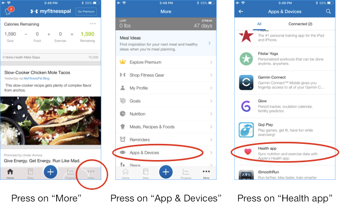smart eating with myfitnesspal - Smart Food Scale