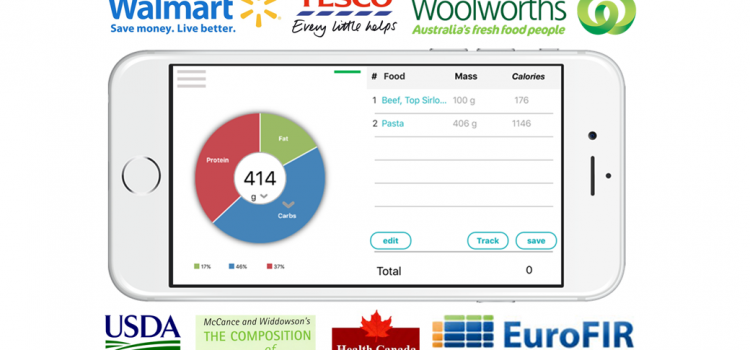 Smart Chef app complete nutrition databases_540_00
