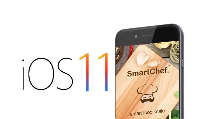 Smart Chef iOS11 compatible