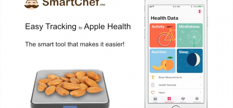 Smart Chef Scale syncs with Apple Health