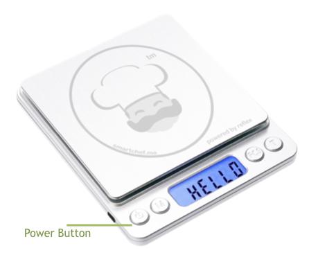 RX402b Smart Chef power on