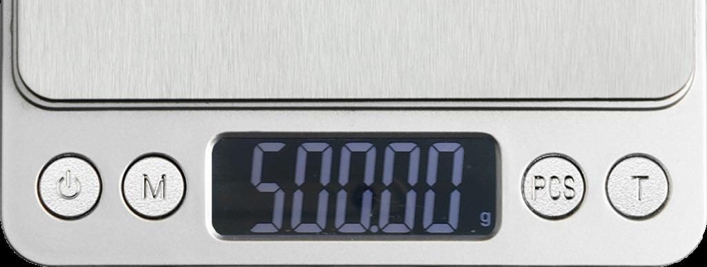 RX402b calibration 500g