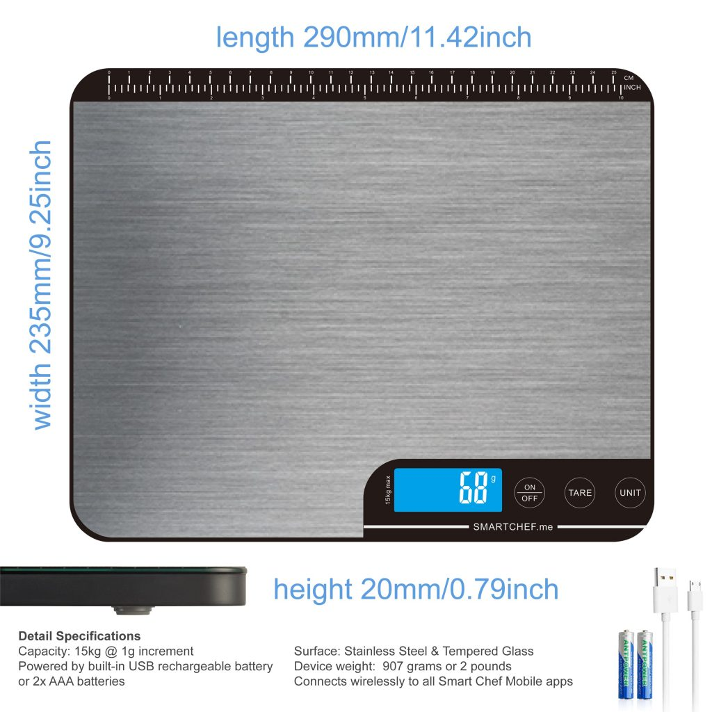 Smart Chef Surface Scale